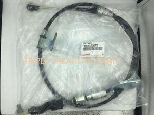 Details about  /33820-60070 OEM GENUINE TOYOTA TRANSMISSION CABLE ASSY FJ CRUISER 4RUNNER PRADO