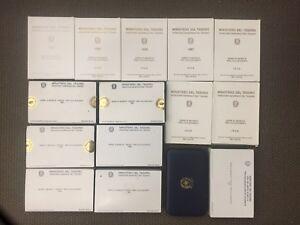 Der-Republik-Italienisch-Serie-Aufteilung-Minze-ab-1985-Al-2000-Proof-Komm-Waehle