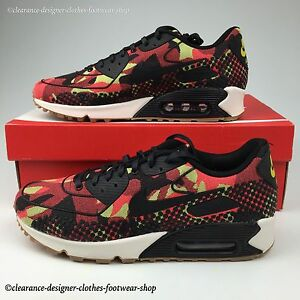 quality design d049e 876e9 Image is loading NIKE-AIR-MAX-90-JACQUARD-PREMIUM-TRAINERS-WOMENS-