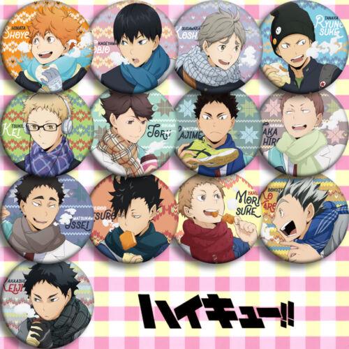 High Kyuu! Shoyo Hinata Syouyou Kageyama Tobio Pin Bedge Badge 13pcs Haikyuu!