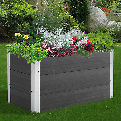 Flower Bed Garden Planter Box Portable Raised Seeds Growth Vegetables Outdoor