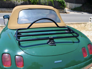 No Clamps No Straps No Brackets No Paint Damage Fiat 124 Spider Luggage Rack Unique Design
