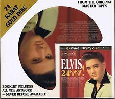 Presley, Elvis 24 Karat Hits DCC GOLD CD Limited Edition No. 6932
