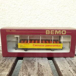 Bemo 3280 100 H0m Observation Car Carozza Panoramica Der Rhb sehr gut erhalten