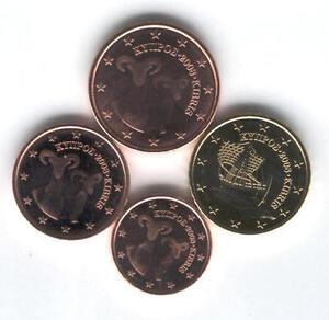 manueduc  CHIPRE  2008   1 ,  2  ,   5   y  10  CENT   NUEVOS