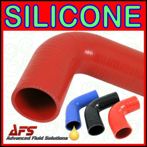 90 Degree Silicone Elbow Radiator Hose Bend Silicon Rubber Coolant Rad Air Pipe