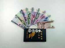 Korea Banknote Set In Folder (UNC) 金日成诞辰100周年纪念币 纪念钱币 纪念册 九纸币四硬币