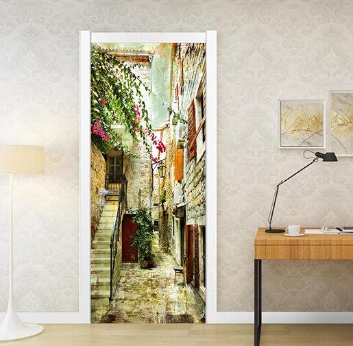 3D Haus 79 Tür Wandmalerei Wandaufkleber Aufkleber AJ WALLPAPER DE Kyra  | Sale Outlet  | Outlet Online  | Good Design