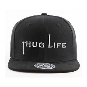 31754c76f81 Men Womens 2Pac Thug Life Out Law Simple Logo Baseball Cap Hip-hop ...