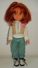 Adorable Poupée LES CHERIES COROLLE Clara rousse cheveux court 33 cm TBE 2001