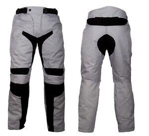 Pantaloni-da-per-moto-in-cordura-con-protezioni-ginocchia-e-fianchi-uomo-o-donna