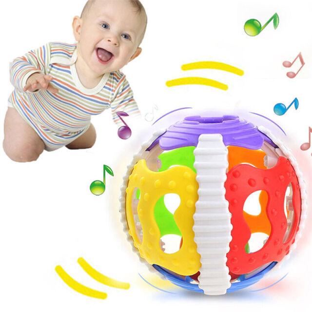 Bell Rattles Lovely Color Random Musical Educational Toy Infant Children Baby