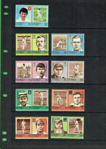 YY10-LOT-OF-APPROX-EIGHTY-80-CRICKET-STAMPS