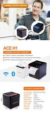 80mm Pos Thermal Printer Usb Lan Port Aoe H1 No Bluetooth