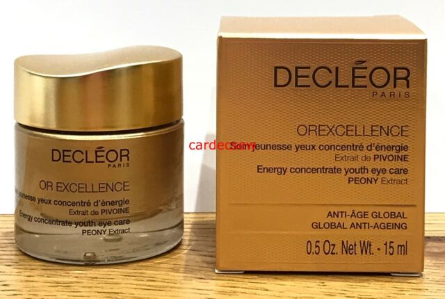 Decleor OREXCELLENCE ENERGY CONCENTRATE YOUTH EYE CARE CREAM 15ML BNIB