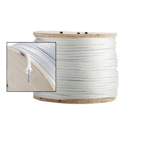 Solid Braid Nylon Rope Wire Center Core 3 8  x 1000' - 35178