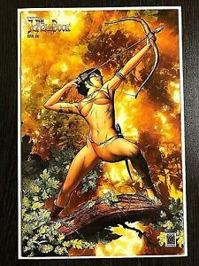 Zenescope-Grimm-Fairy-Tales-The-Jungle-Book-3-EXCLUSIVE-RARE-W-COA-LTD-100-NM