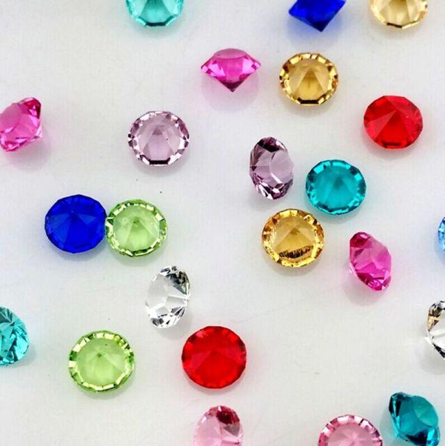 NEW 100Pcs6mm Mix Birthstone Crystal Floating Living Memory Glass Lockets Charm