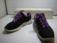 item 1 Nike Free Run+ Black Anthracite Violet Women s Sneakers 443816-005  Sz 7 -Nike Free Run+ Black Anthracite Violet Women s Sneakers 443816-005 Sz  7 b221d149e