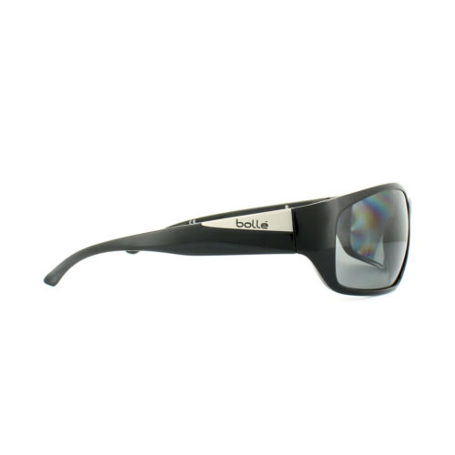 Bolle Sunglasses Keel 11993 Shiny Black Modulator Grey Polarized