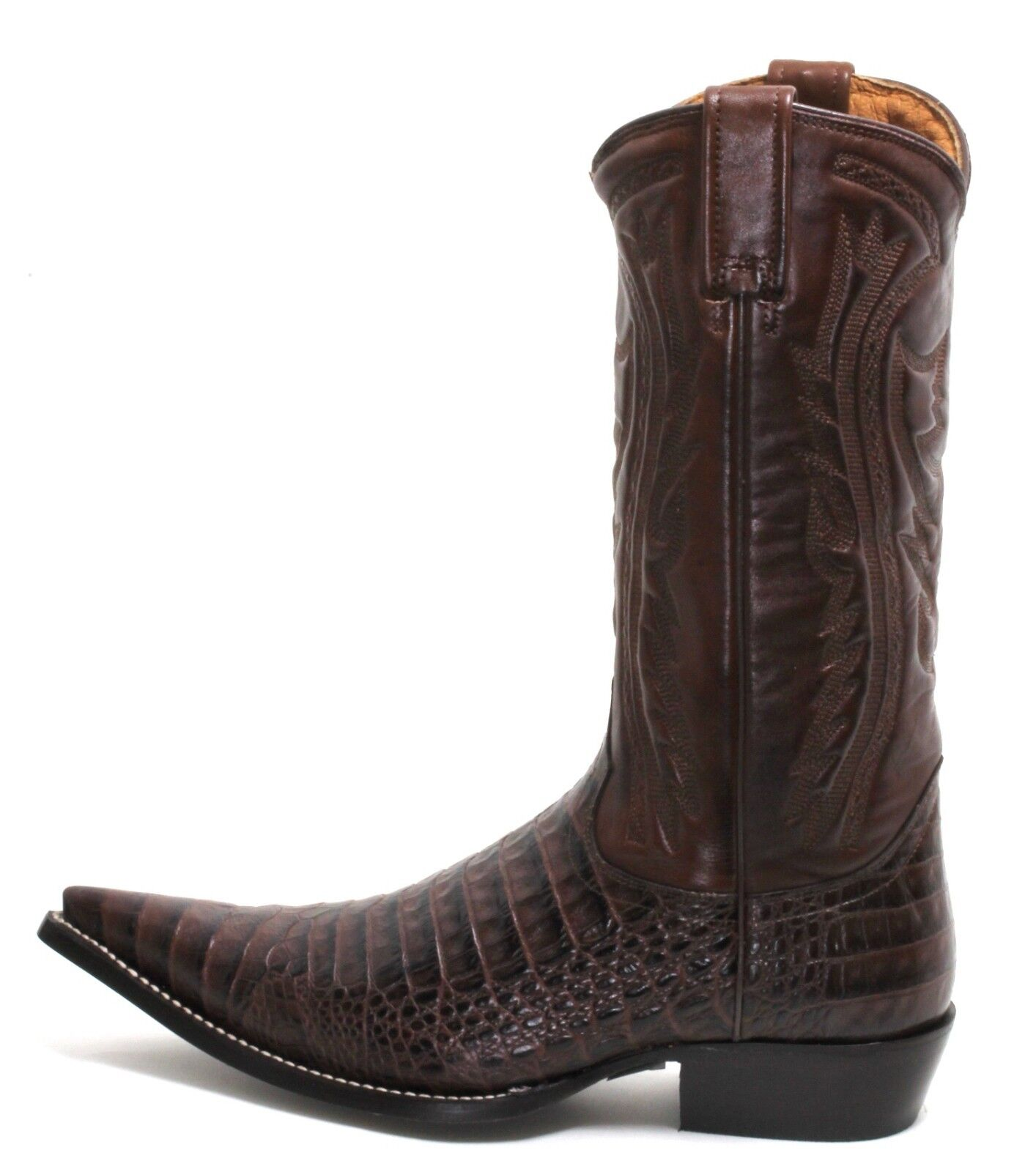 185 Cowboy Stivali Stivali Western Western Western Texas stivali Catalan Style Pottawatomie Marrone 46 c39646