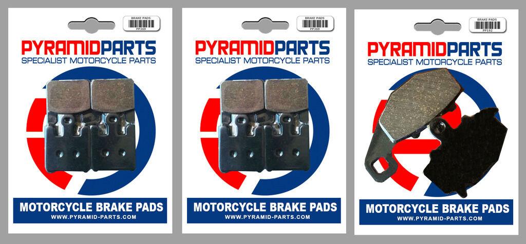 5 Pairs Rad.cal for Kawasaki ZX-10R 1000 Ninja Front /& Rear Brake Pads 04-07
