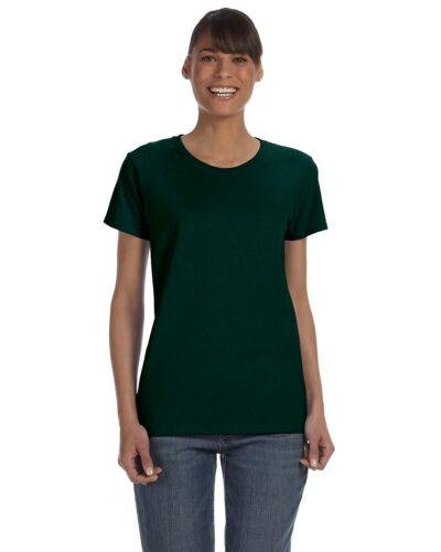 Heavy Cotton Missy Fit T-Shirt 12 Pack G500L All Sizes Gildan Womens 5.3 oz