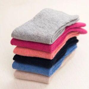 3-6Pairs Lot Infants Baby Kids Boy//Girls Wool Cashmere Warm Soft Solid Socks0-6Y