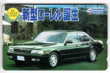 ASIE  TELECARTE / PHONECARD .. JAPON 50Y NTT TAMURA AUTO CAR NISSAN LAUREL