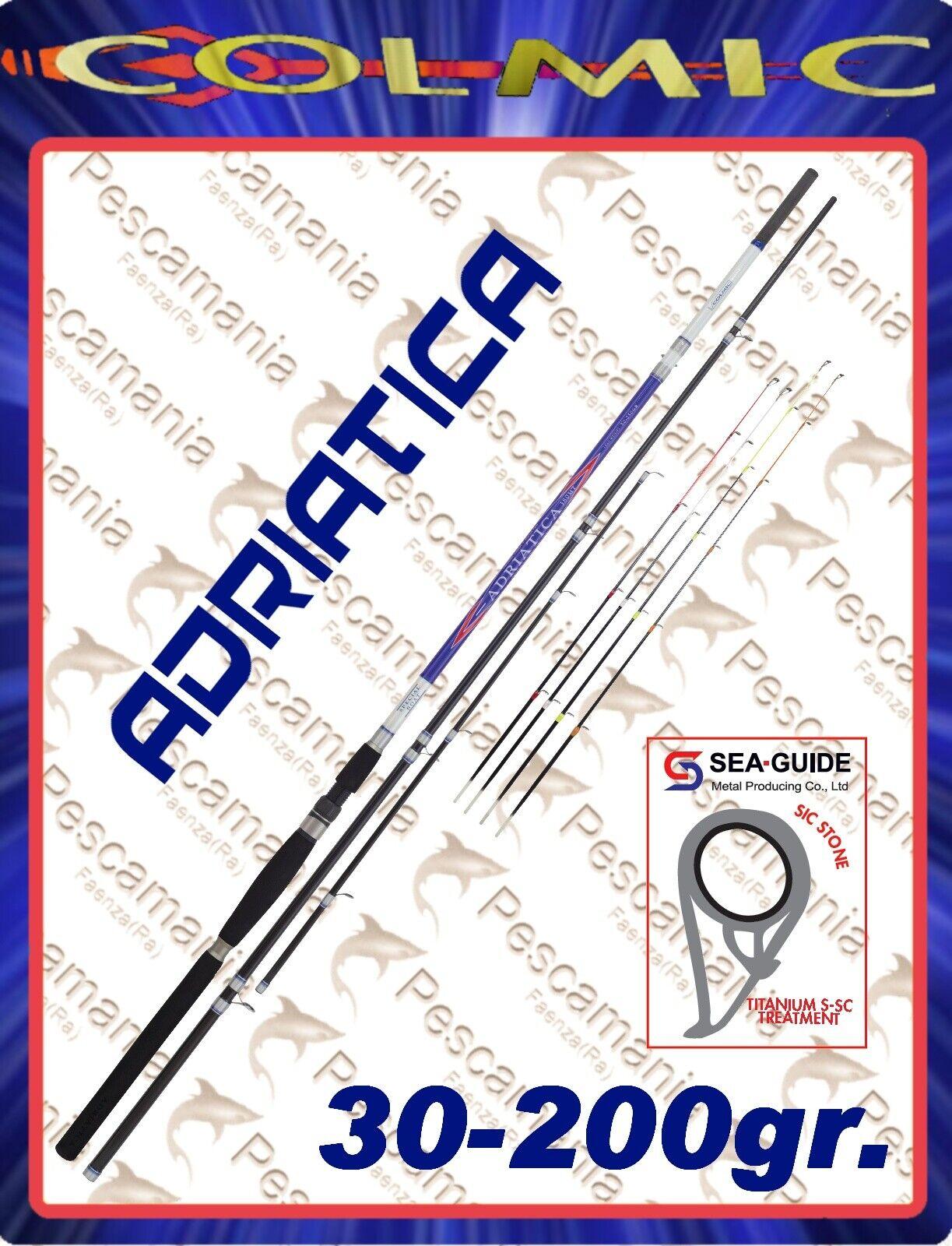Fishing rod carbon colmic adriatica 30-200 gr boat bolentino 4