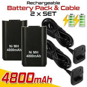 2-x-4800mAh-Rechargeable-Battery-USB-Charger-Cable-Pack-for-XBox360-Controller