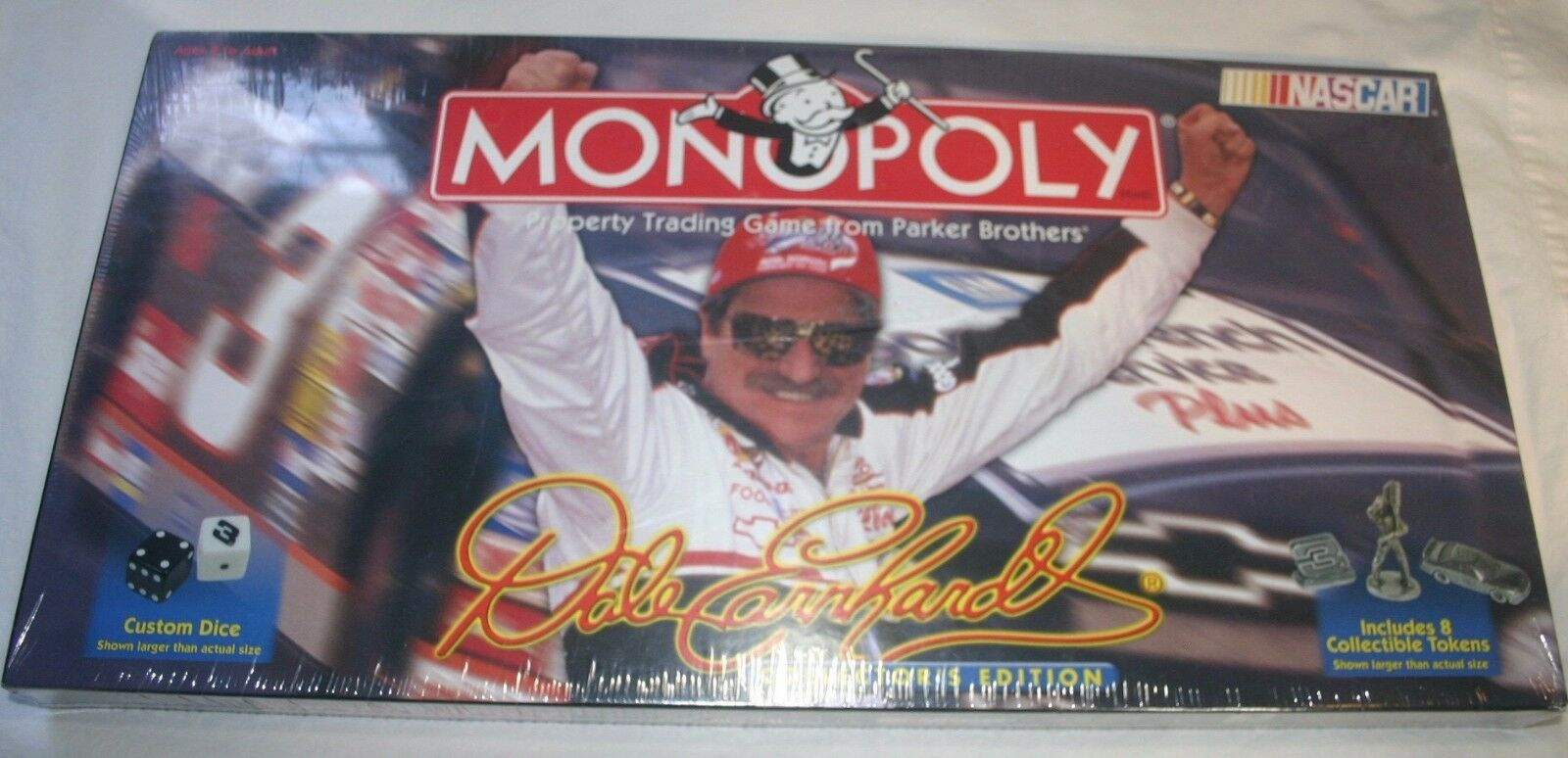 DALE EARNHARDT  NASCAR  MONOPOLY  BOARD GAME  FACTORY SEALED