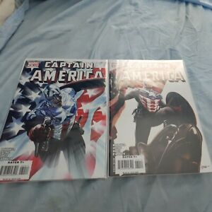 Captain America #34 NM 9.4 & Variant;  Bucky As Captain America