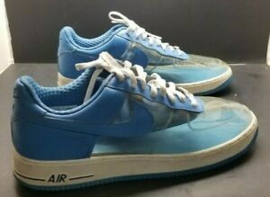 Blue Nike Woman Details 15 With Invisible Clear Panel Force 1 Premium Mens About Leather Air Y76gybvIf