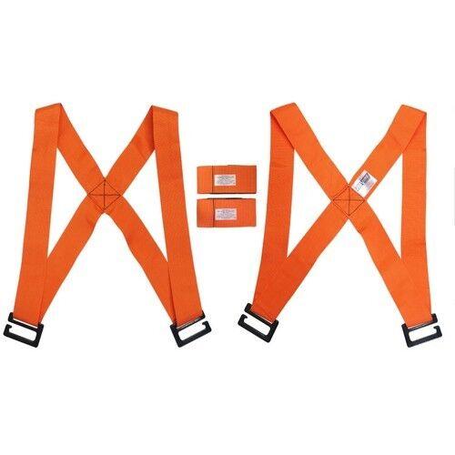 Transport Belt Shoulder Wrist Strap For Lifting Moving Cord Bulky Item Furniture