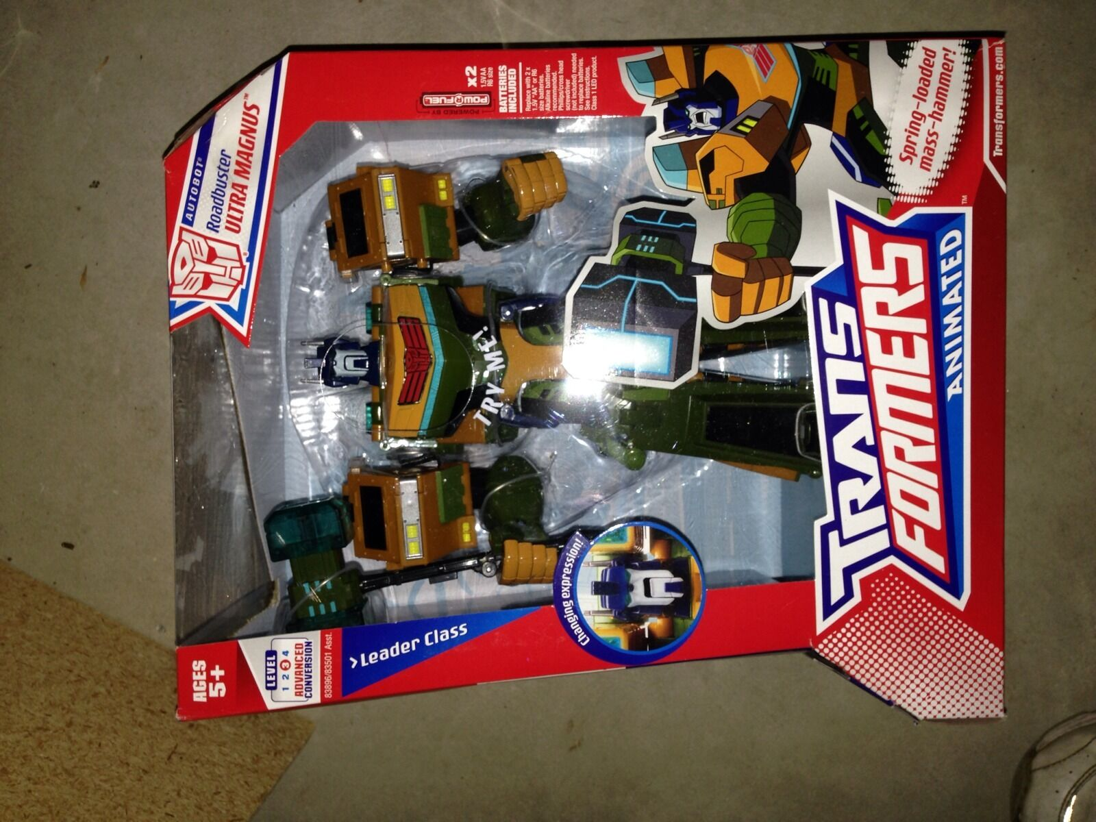 Transformers Animated Leader AUTOBOT G1 Roadbuster Deco Ultra Magnus New Sealed