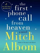 The First Phone Call from Heaven: A Novel by Albom, Mitch, Good Book