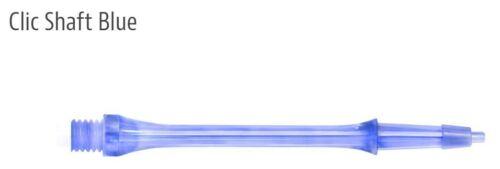 Blue In Between Midi Harrows CLIC System set of 3 Dart Shafts Stems 30 mm