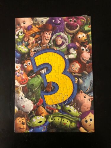 """STILL IN PLASTIC TOY STORY 3 PROMO 12/""""X8/"""" PUZZLE"""