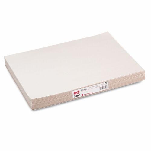 Pacon White Newsprint 30 lbs 12 x 18 White 500 Sheets//Pack 3409