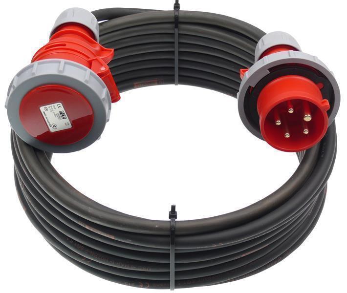 m CEE Verlängerungskabel TITANEX 5G1,5 5x1,5 Wasserdicht 16A IP67 5m | Schönes Aussehen