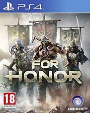 FOR HONOR PS4 EN CASTELLANO ESPAÑOL NUEVO PRECINTADO PS4