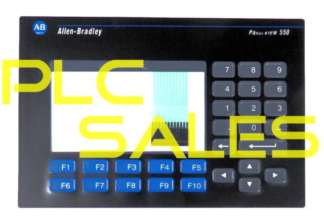 Allen Bradley Panelview 550 Replacement Keypad Membrane 2711-K5A1 -> 2711-K5A20