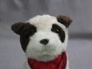 Wells Fargo Animal Fair Plush Stage Coach Dog Jack Russell Stuffed