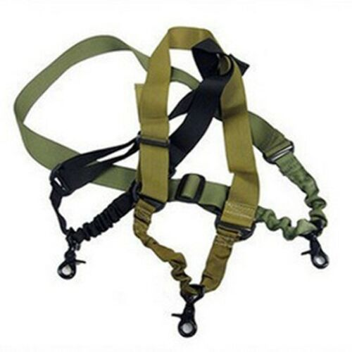 Adjustable FZ Tactical Single one 1 Point Sling Rifle Gun Sling Bungee