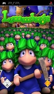 Playstation-Sony-PSP-LEMMINGS-Platinum-Version-BRANDNEU