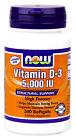 Now Foods Vitamin D-3 5000 IU 240 Softgels