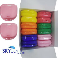Dental Retainer Denture Storage Case Box Mouthguard Container Assorted Up To 72