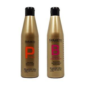 Salerm-Protein-Shampoo-amp-Balsam-Conditioner-250ml-Duo-034-Set-034