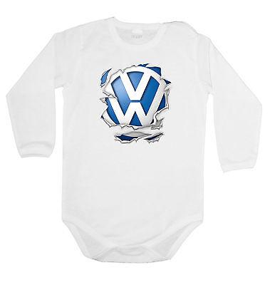 Wu Tang Logo BABY BODY+BIBS FUN,BODYSUIT KURZARM //LANGARM//OHNE ARM VEST